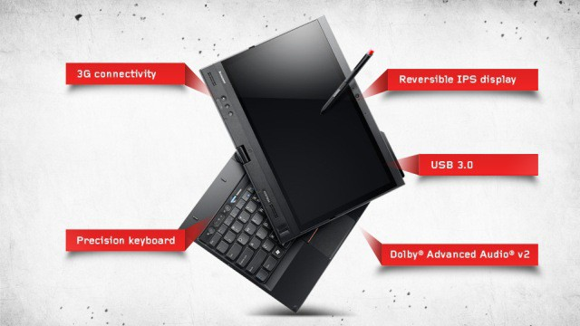 Lenovo X230T convertible PC